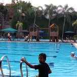 Photo taken at Sagara swimming pool by Leonardhuz M. on 11/11/2011