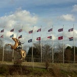 Photo taken at Nathan Bedford Forrest Statue by STACEY on 12/30/2011