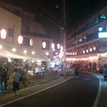 Photo taken at 金町末広商店会 by NOIR on 7/21/2012