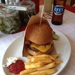 Photo taken at Burger Bar by SEZEN S. on 4/14/2012