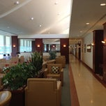 Photo taken at Emirates Lounge by Roy W. on 9/7/2012