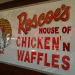 Photo taken at Roscoe's House of Chicken and Waffles by Dianne R. on 3/11/2012