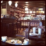 Photo taken at Max Brenner Chocolate Bar by Carol V. on 8/25/2012