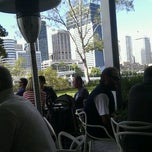 Photo taken at River Cafe by Garry L. on 7/8/2012