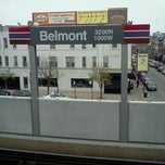 Photo taken at CTA - Belmont by Starrby W. on 3/31/2012