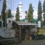 Photo taken at Masjid Agung Sagalaherang by Awang on 8/16/2012