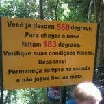 Photo taken at Escada da Perna Bamba by Murillo P. on 12/18/2011