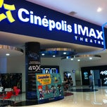 Photo taken at Cinépolis by Antonio O. on 5/17/2012