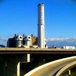 Photo taken at Baltimore BRESCO Smokestack / Wheelabrator Incinerator by Eric S. on 12/24/2011