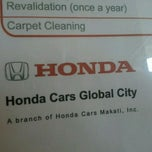 Photo taken at Honda Cars Global City by Randy E. on 10/24/2011