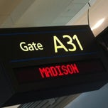 Photo taken at Gate A31 by James T. on 5/5/2012