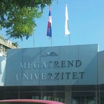 Photo taken at Megatrend Univerzitet by Unamaria P. on 9/3/2012