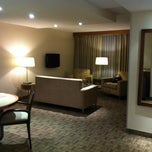 Photo taken at International Hotel Suites by Lisa C. on 10/23/2011