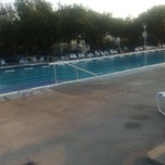 Photo taken at University Park Pool by Emily G. on 9/5/2011