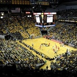 Photo taken at Mizzou Arena by Mizzou on 12/31/2010
