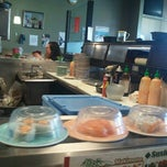 Photo taken at Marinepolis Sushi Land by Evey S. on 8/8/2012