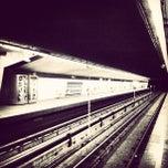 Photo taken at Metrostation Delfshaven [A, B, C] by Christine F. on 3/11/2012