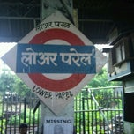 Photo taken at Lower Parel Railway Station by Neerav G. on 9/2/2011