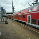 Photo taken at Station Dresden-Friedrichstadt by Tigra S. on 6/26/2011
