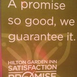 Photo taken at Hilton Garden Inn by Melissa T. on 7/16/2012