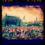 Photo taken at FirstMerit Bank Pavilion at Northerly Island by Andrew on 8/18/2012