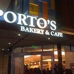 Photo taken at Porto's Bakery & Cafe by Angel E. on 2/21/2011