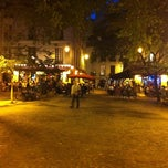 Photo taken at Place du Marché Sainte-Catherine by jeffrey g. on 8/11/2011
