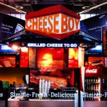 Photo taken at Cheeseboy: Grilled Cheese To Go by Kevlar on 8/23/2012
