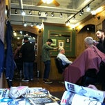Photo taken at Tweed Barbers of Boston by studiomimi on 5/9/2012