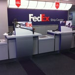 Photo taken at FedEx Ship Center by Matt N. on 5/7/2011