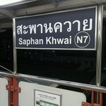 Photo taken at BTS สะพานควาย (Saphan Khwai) N7 by Pisit U. on 9/20/2011