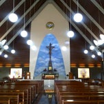 Photo taken at Gereja Katolik Roh Kudus by Agus G. on 2/19/2011