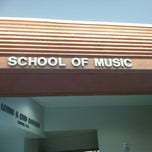 Photo taken at School of Music (MUS) by Jon T. on 9/6/2011