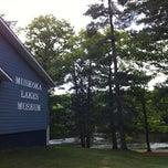 Photo taken at Muskoka Lakes Museum by Joan W. on 5/31/2012