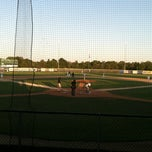 Photo taken at Sherman Baseball Stadium by Anna S. on 7/11/2012