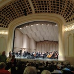 Photo taken at Macky Auditorium by Mark G. on 4/22/2012