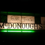 Photo taken at McDonough's Restaurant & Lounge by Kerri R. on 3/8/2012