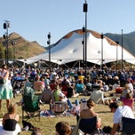 Photo taken at Sun Valley Pavilion by Sun Valley Resort on 8/17/2011