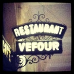 Photo taken at Le Grand Véfour by A T. on 1/9/2012