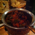 Photo taken at Indian Restaurant Shanti by Toni M. on 2/10/2011