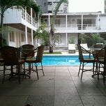 Photo taken at Hotel Aconchego by Maritza M. on 1/29/2012