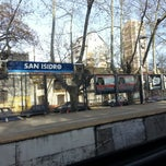 Foto tomada en Estación San Isidro [Línea Mitre] por Nicolás Daniel L. el 9/11/2012