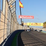 Photo taken at Circuit de Valencia by Raphael J. on 6/16/2012