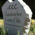 Photo taken at Chattahoochee Country Club by Barbara R. on 4/13/2012