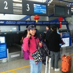 Photo taken at Dunhuang airport (DNH) by Brian L. on 4/4/2012