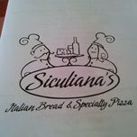 Photo taken at Sicliana's Italian Bread & Specialty Pizza by Josh U. on 10/1/2011