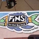 Photo taken at Fins On The Beach by Yolanda S. on 4/1/2012