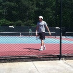 Photo taken at Fair Oaks Tennis Center by Brooke K. on 4/14/2012