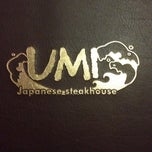 Photo taken at UMI Japanese Steakhouse by Melanie D. on 2/4/2012
