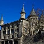 Photo taken at Castell de la Torre de Riu by Oscar on 1/15/2012